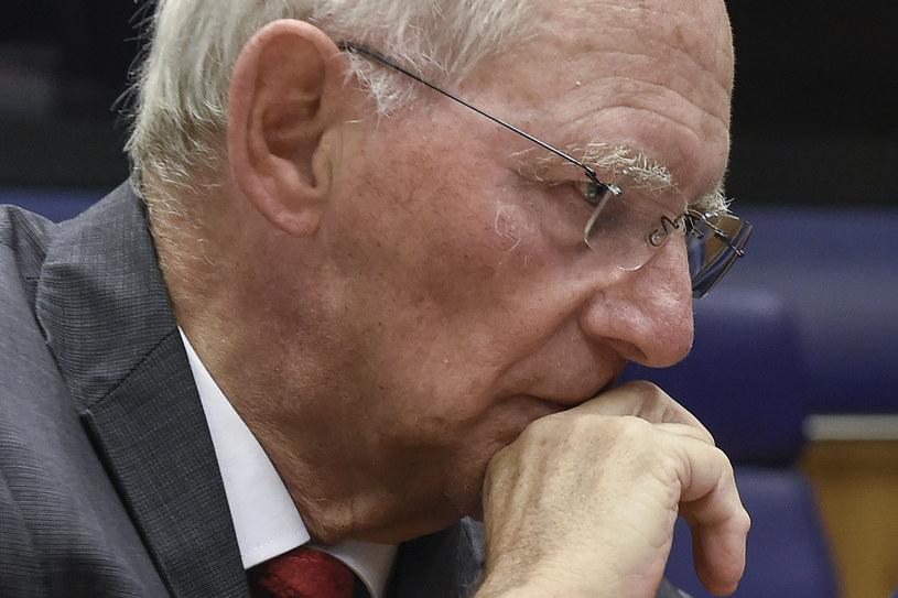 Klub poselski CDU/CSU za kandydaturą Wolfganga Schaeublego na szefa Bundestagu /JOHN THYS /AFP
