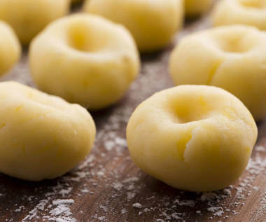 Kluski śląskie z gulaszem