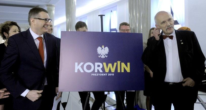 Koalicja Odnowy Rzeczpospolitej Wolnosc i Nadzieja ma w sondażu 4 proc. poparcia /Jan Bielecki /East News