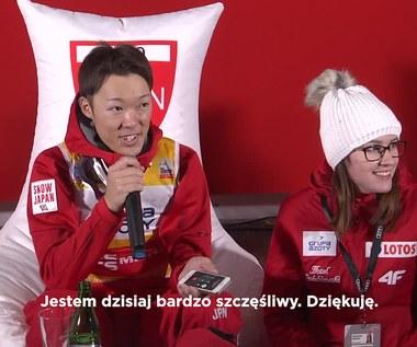 Kobayashi wygrał w Wiśle. Kłopoty z językiem japońskim na konferencji