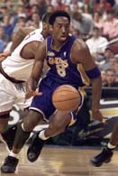 Kobe Bryant uratował Lakersom zwycięstwo w meczu z Nuggets