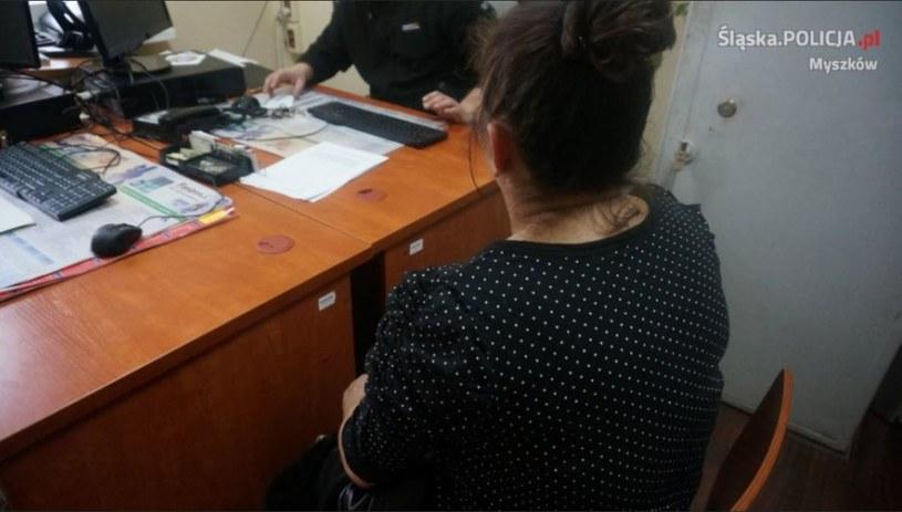 Kobieta przyznała się do winy /Policja