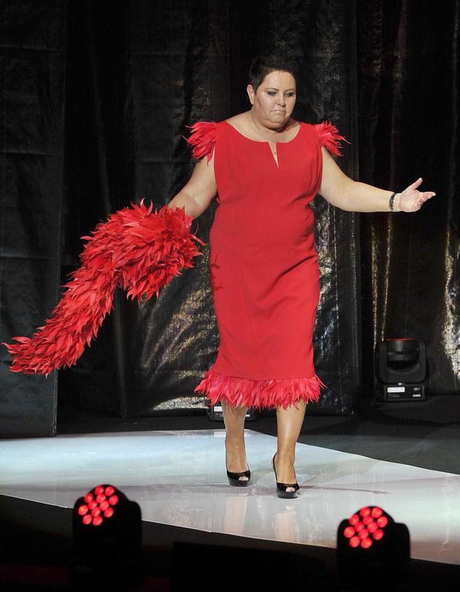 Kobiety, które noszą ubrania w rozmiarze XL, chcą wyglądać modnie! Żeby tak było, walczy m.in. dziennikarka Dorota Wellman /Jacek Kurnikowski /AKPA