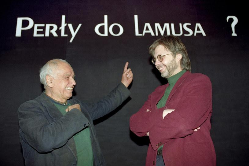 Kochał kino i wcześnie został gwiazdą szklanego ekranu, ale telewizor sprawił sobie dopiero w 2001 roku! /Zenon Zyburtowicz /East News