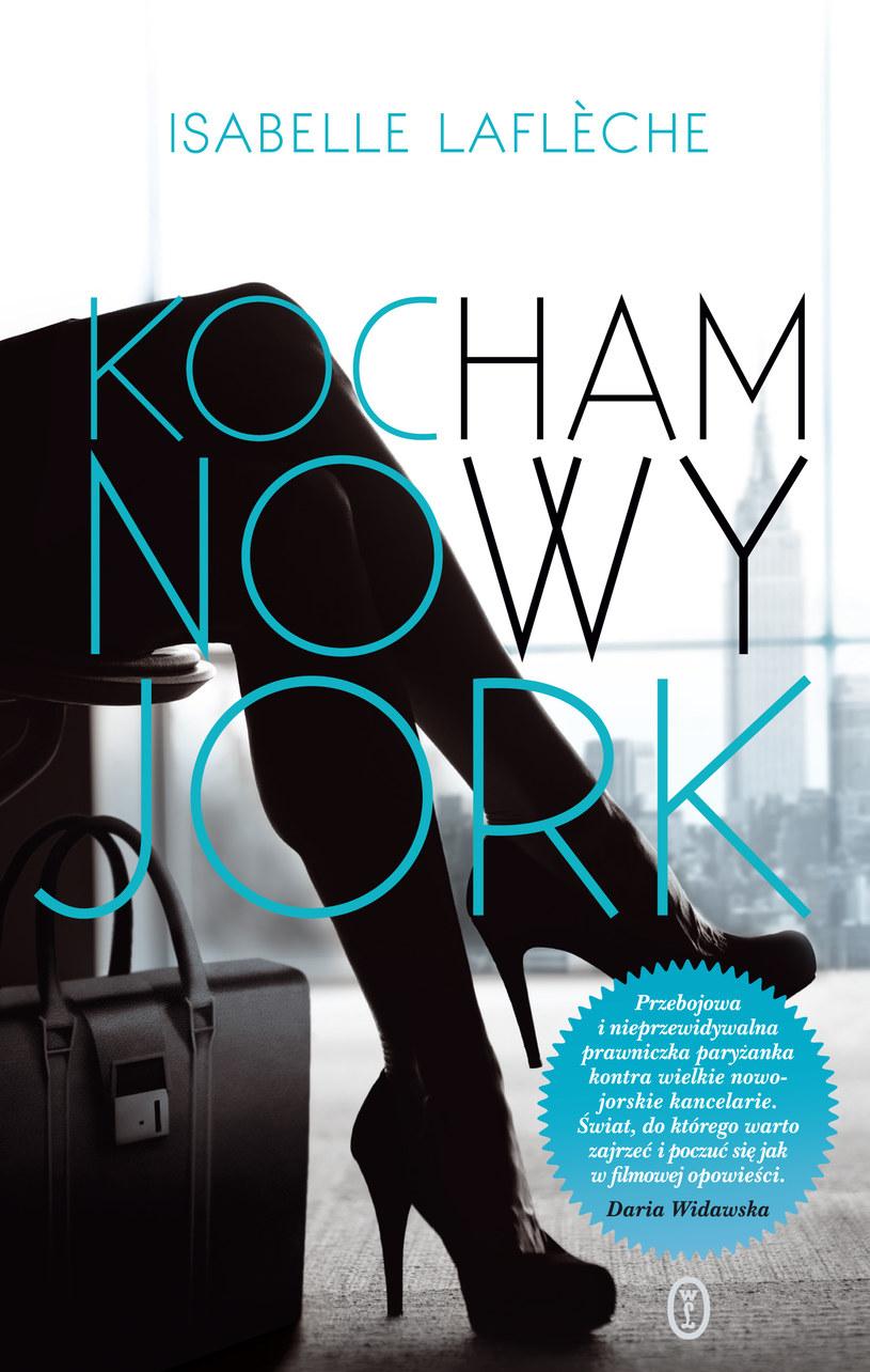Kocham Nowy Jork - premiera 4 lipca /Wydawnictwo Literackie