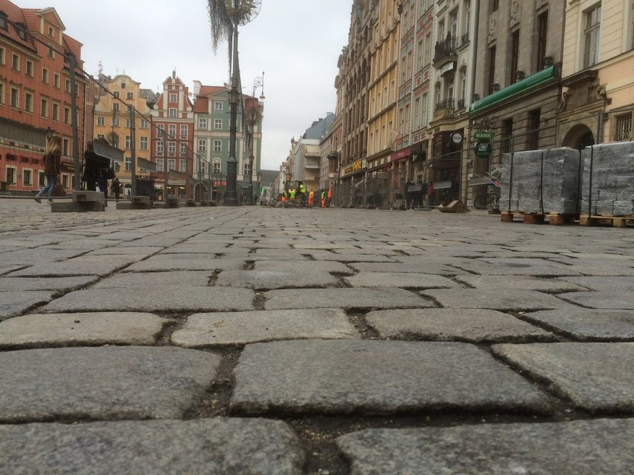 Kocie łby zmorą wrocławskich elegantek /Bartek Paulus /RMF FM