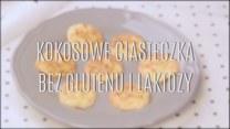 Kokosowe ciasteczka bez glutenu i bez laktozy