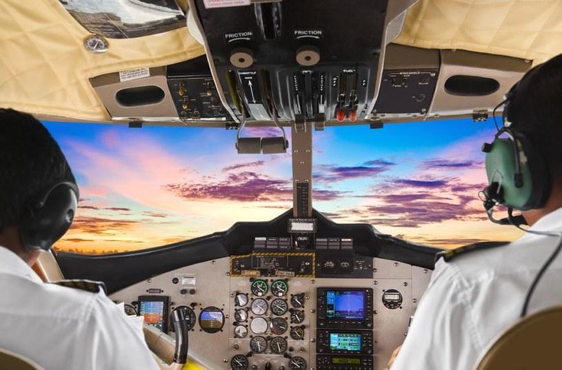 Kokpit samolotu /123RF/PICSEL