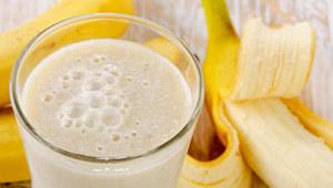 Koktajl twarogowo-bananowy