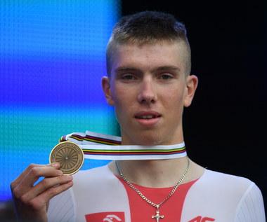 Kolarskie MŚ: Filip Maciejuk zdobył brązowy medal w jeździe indywidualnej na czas juniorów