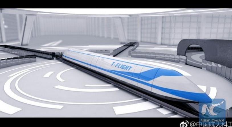 Kolej magnetyczna HyperFlight może być cztery razy szybsza niż Hyperloop /Twitter /Internet