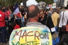 Kolejna demonstracja w Paryżu