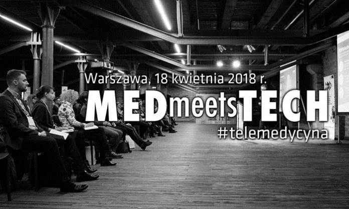 Kolejna edycja MEDmeetsTECH w Warszawie 18 kwietnia /materiały promocyjne