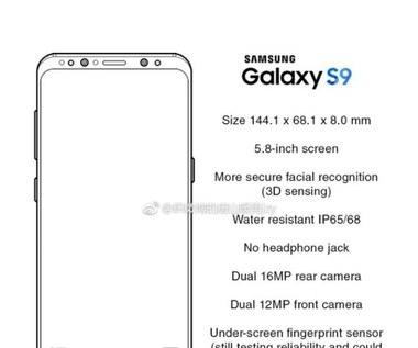 Kolejne przecieki na temat Samsunga Galaxy S9