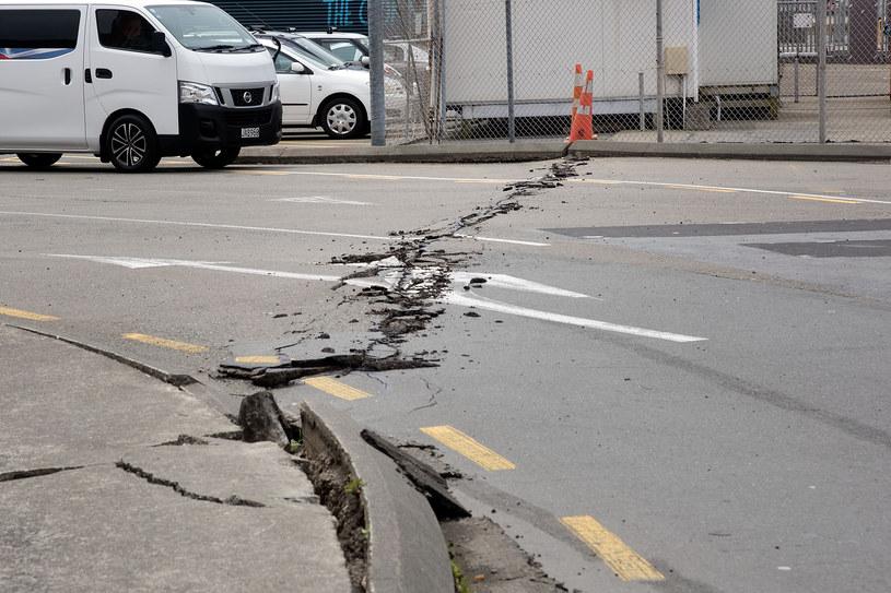 Kolejne trzęsienie ziemi w Nowej Zelandii /MARTY MELVILLE /AFP