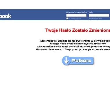 Kolejny atak na polskich użytkowników Facebooka