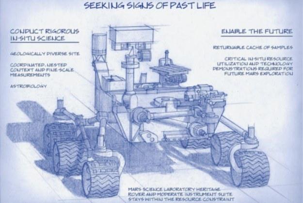 Kolejny łazik na Marsa poleci już w 2020 r. /NASA