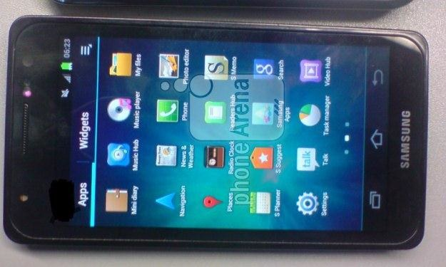 Kolejny rzekomy Galaxy S III Fot. Phone Arena /Komórkomania.pl