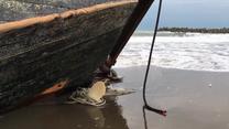 """Kolejny """"statek widmo"""" rozbity u wybrzeża Japonii"""