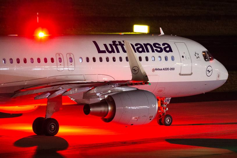 Kolejny strajk pilotów Lufthansy /Marcel Kusch / dpa /AFP