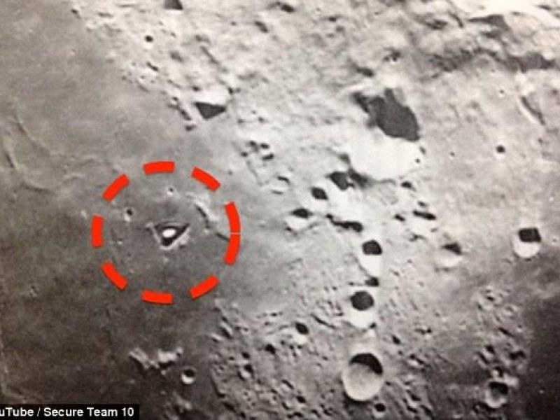 Kolejny tajemniczy obiekt na powierzchni Księżyca /YouTube