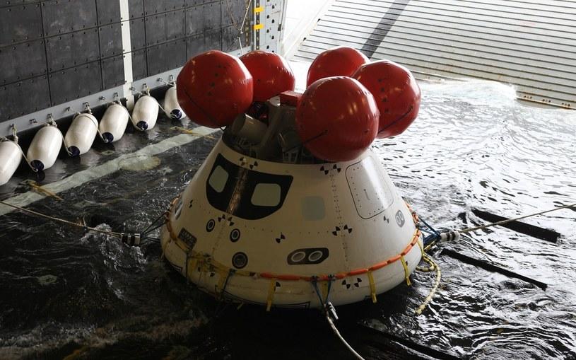 Kolejny udany test wodowania statku kosmicznego Orion /NASA
