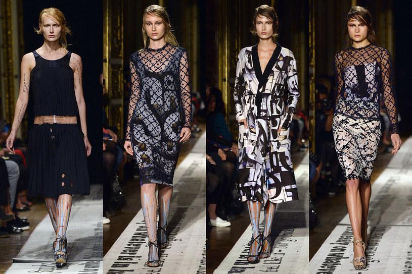 Kolekcja Gosia Baczyńskiej podczas tygodnia mody w Paryżu /AFP