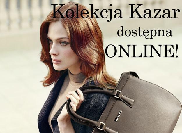 Kolekcja Kazar dostępna w sklepach online! /materiały prasowe