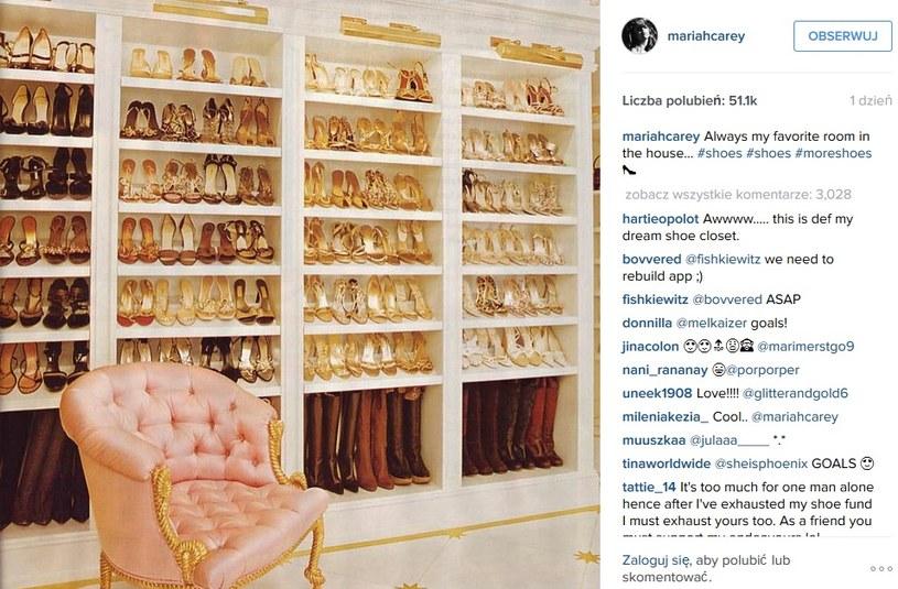 Kolekcja Mariah Carey robi wrażenie /Instagram/ Mariah Carey /INTERIA.PL