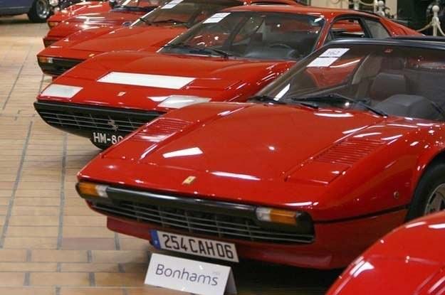 Kolekcja samochodów Ferrari /AFP