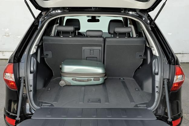 koleos bagażnik /Motor