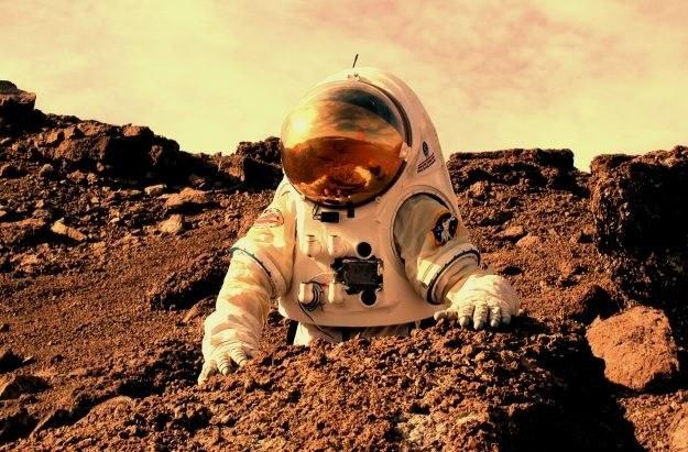 Kolonizatorzy na Marsie mają eksploatować źródła tamtejszej wody. /materiały prasowe