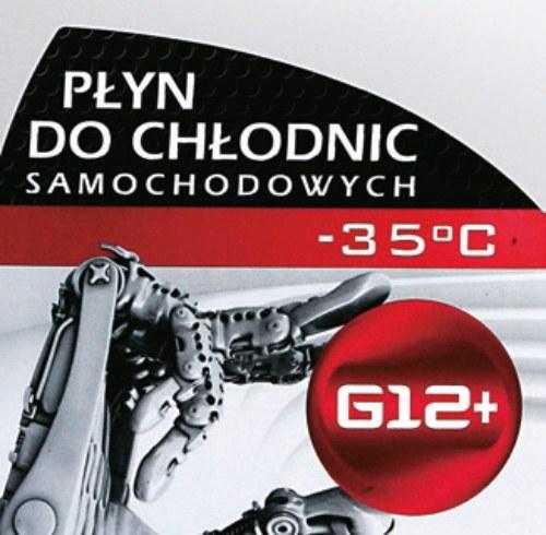 Kolor liliowy lub czerwony i oznaczenia G12-G13 to cechy płynów organicznych. /Motor