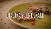 Kolorowe ciastka z lentilkami