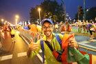 Kolorowy festiwal na ulicach Krakowa