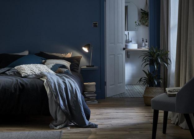 Kolorystyka w sypialni powinna sprzyjać wyciszeniu / Materiały prasowe /mat.prasowe /materiały prasowe