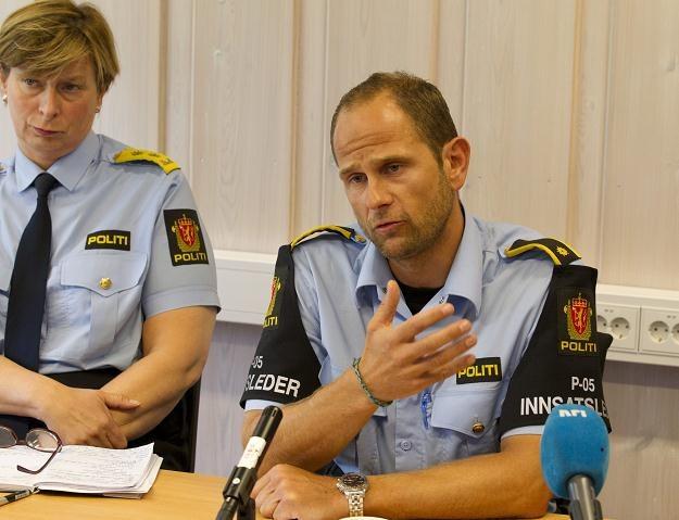 Komendant Sissel Hammer (L) /PAP/EPA