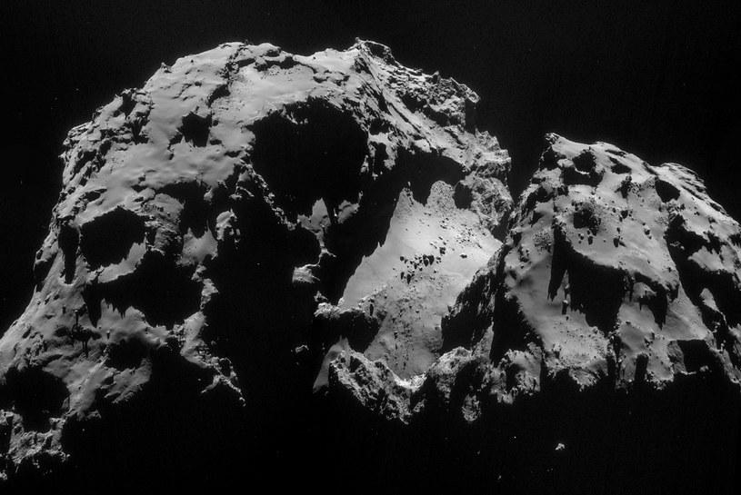 Kometa 67P uchwycona przez sondę Rosetta /materiały prasowe