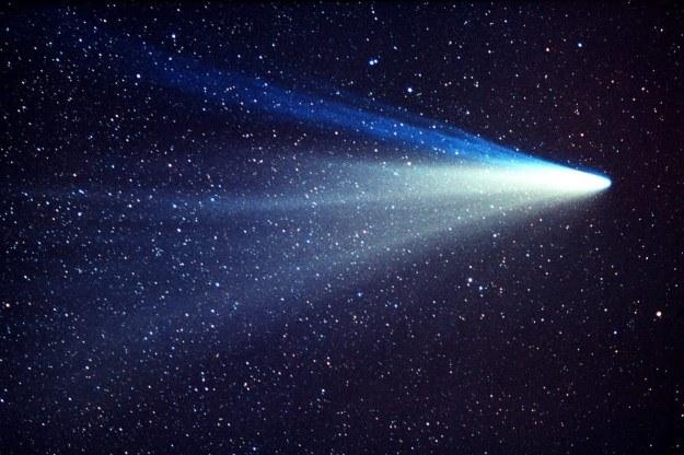 Komety od zawsze intrygowały ludzi /materiały prasowe