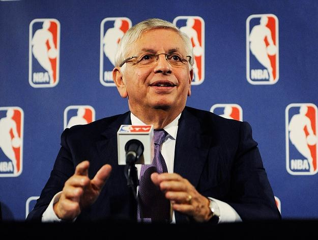 Komisarz ligi NBA David Stern /AFP