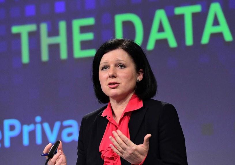 Komisarz Unii Europejskiej do spraw sprawiedliwości Vera Jourova /AFP