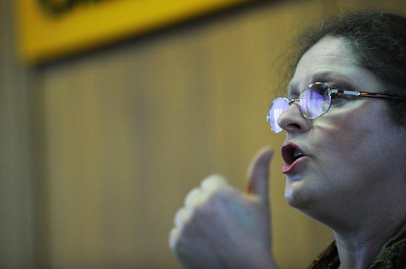 Komisja etyki poselskiej ukarała posłankę PiS Krystynę Pawłowicz /Marcin Gadomski /Agencja SE/East News