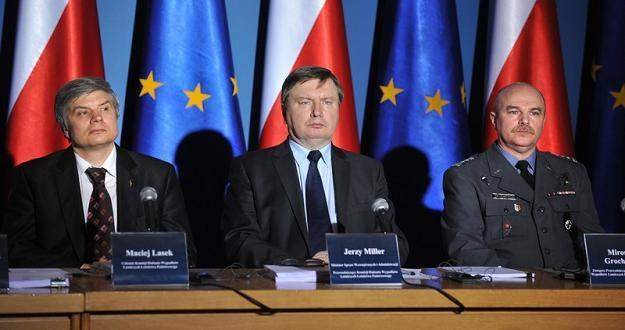 Komisja Jerzego Millera, fot. B. Krupa /East News