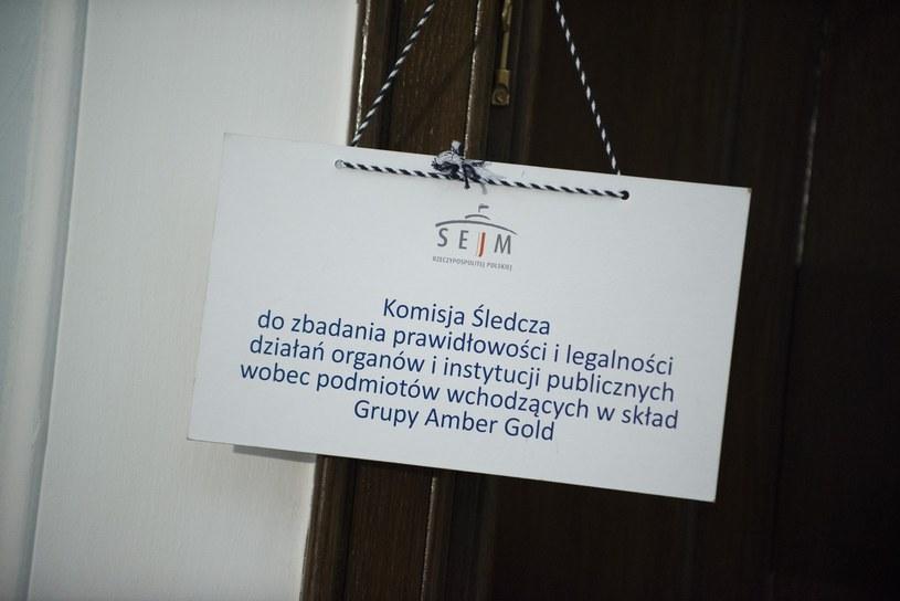 Komisja Śledcza do zbadania prawidłowości i legalności działań organów i instytucji publicznych wobec podmiotów wchodzących w skład Grupy Amber Gold. /Jakub Wosik  /East News