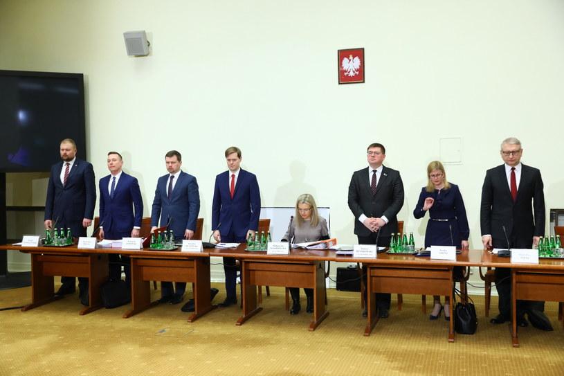 Komisja śledcza ds. Amber Gold /Rafał Guz   /PAP