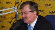 Komorowski: Beger i Bosak trafią przed sąd