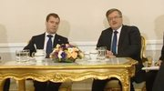 Komorowski i Miedwiediew rozmawiali w Pałacu Prezydenckim