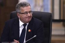 Komorowski: Pewnie bym już umarł na zawał serca
