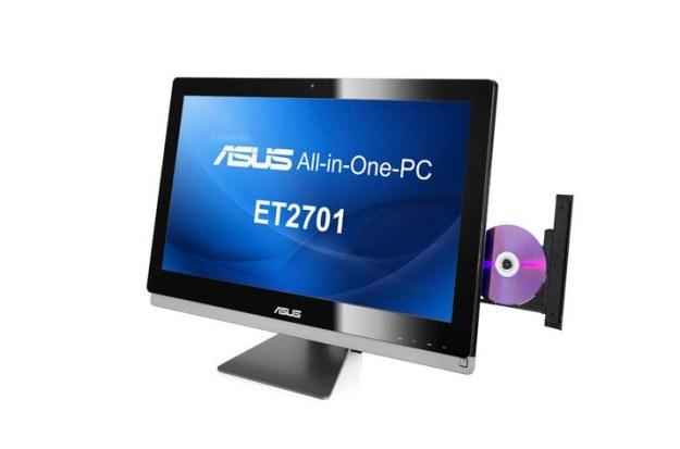 Komputer all-in-one - podzespoły zamknięte w obudowie monitora /materiały promocyjne