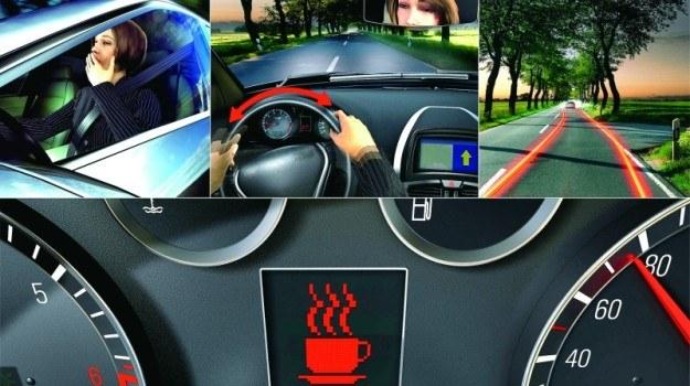 Komputer sprawdza m.in., czy kierowca podąża swoim pasem ruchu. /Motor